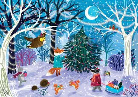 Winter Wonder Woodland